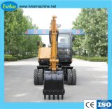 中国の製造所の小さい車輪の坑夫のハイドロ掘削機