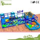 Хорошее качество ослабляя смешное крытое оборудование спортивной площадки для малышей