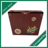 Doppelte Tür-kundenspezifischer Karton-Geschenk-Kasten-gewölbter Großverkauf