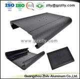 Profil en aluminium anodisé concurrentiel pour l'équipement audio de voiture le radiateur