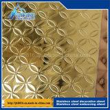 201 304 картина Weave сброса 3D нержавеющей стали заволакивает декоративная плита