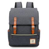 В японском стиле Custom серый холст для ноутбука школы рюкзак