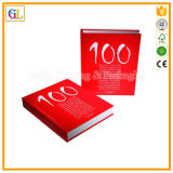 Alto servizio di stampa del libro di Hardcover di Qaulity (OEM-GL009)