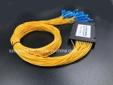 PLC van de Telecommunicatie van Gpon van de Kabel van de vezel Optische 1X32 Splitser