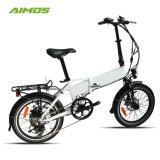 36V 250W y 20 pulgadas de bicicleta eléctrica plegable aprobación CE