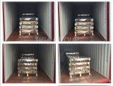 De nieuwe Kleur van de Tegel van de Stap van de Materialen van het Dakwerk bedekte Verglaasde Staalplaat met een laag
