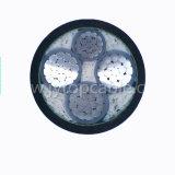 3+1core de baja tensión XLPE de cobre aislado o cable de alimentación Unarmoured blindados