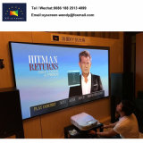 Home Cinéma pour l'écran de trame ultra Projecteur à courte portée