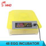 Uitbroedende Eieren van de Incubator van het Ei van Ce van Hhd de Volledige Automatische Gediplomeerde voor 48 Eieren
