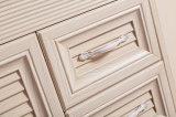2 puertas 2 cajones diseñan las cabinas de cerámica montadas en la pared baratas del aluminio del lavabo del precio de fábrica