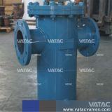 Aço vazado Vatac Wcb/Lcb/WC9/CF8/CF8m/SS304/SS316 filtrador de cesto