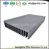 Dissipatore di calore di alluminio di alluminio dell'espulsione materiale da costruzione della parte di metallo/di serie