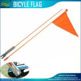 Fibra de vidrio de dos piezas poste del nuevo de Sunlite de la bicicleta indicador de la seguridad naranja de 72 pulgadas
