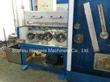 Alambre fino de cobre de la alta calidad 24dwt que hace la máquina con Annealer en línea