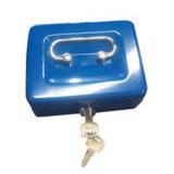 Tirelire faite sur commande de tiroir de cadre d'argent comptant en métal avec le blocage