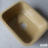 Superfície sólida de acrílico Undermount único pia de cozinha