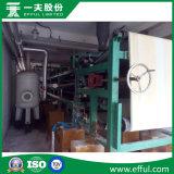 O filtro de vácuo da correia aplicou-se à produção de pó de grande resistência da gipsita