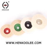 Pulido de fieltro de lana de las ruedas de pulido