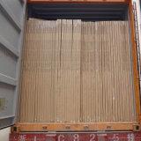 販売のための使用されたスライドガラスのベニヤのチーク木ポーランド人のドアの皮
