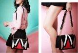 Bolsas de couro da senhora PLUTÔNIO da forma do desenhador da fábrica de Guangzhou