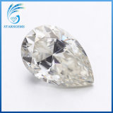 12x8mm 3,0 carats GH forme de poire de Couleur brillante cut diamond Moissanite