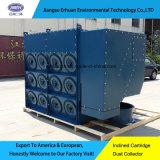 Extrator de poeira do cartucho de Erhuan 3-12 Downflow