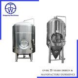 Tanque de armazenagem de aço inoxidável SUS304/316L Recipiente de armazenagem 100L 200L 500L 1000L 2000L 5000L
