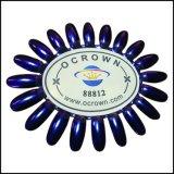 Het Poeder Ocrown88812 van de Kunst van de Spijker van het Effect van de Spiegel van het Kameleon van het Pigment van de parel