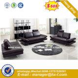 居間の角のソファーの現代革ホーム家具(HX-SN049)