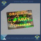Легко Destoryed Голографическая наклейка с логотипом пользовательских и печать