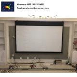 """Matériau blanc mat et Style électrique 100"""" L'écran du projecteur"""