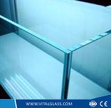 2-19mm clair plaine réfléchissant Le verre de construction/basse en verre de fer avec la norme ISO9001