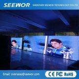Lo schermo di visualizzazione dell'interno del LED dell'affitto dell'alluminio P4.81mm della pressofusione con il modulo di 250*250mm