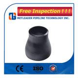 Riduttore concentrico saldato estremità del acciaio al carbonio della Cina con vernice nera