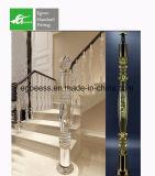 Balaustre del PVC del fabricante del surtidor de Chiness para el pasamano del balcón