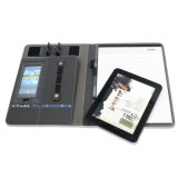 Personalizar um compêndio de arquivos e pastas de couro4 com suporte para Tablet PC