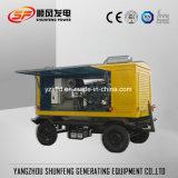 OEM diesel mobile impermeabile del generatore di energia elettrica di 125kVA 100kw Cummins