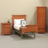 Meubles en bois de soins de santé de cerise durable dans la chambre à coucher