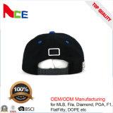 Modificar los sombreros desmontables llanos del ladrillo para requisitos particulares del diseño DIY de la manera del Snapback con insignia de encargo