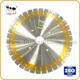 다이아몬드는 구체적인 Asphal를 위해 톱날 기계설비 돌 공구 다이아몬드 원형 절단 디스크를