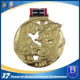Die литой металлический творчества медаль в 3D-дизайн с помощью строп предохранительного пояса