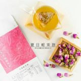 有機性台湾によって乾燥されるローズの茶芽の花のハーブティー