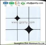 Suspension d'aluminium métallique faux Clip décoratifs dans le panneau de plafond
