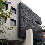 建物のためのアルミニウムクラッディングパネルの壁の正面