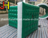 Preiswerte Green&White Wand aufblasbare Paintball Bunker für Laser-Marken-Spiel