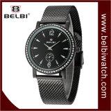 Wristwatch мужчины кварца случая диаманта типа дела Belbi роскошный