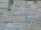 Multicolor barato cultivadas/pedra ardósia ardósia revestimento de paredes de pedra de Paisagismo