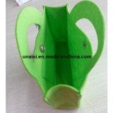 Piccolo mini sacchetto di Tote della mano del feltro di modo per le donne