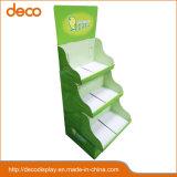 Visualización de papel de la posición del soporte de visualización de la cartulina para la venta al por menor