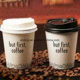 Quitar fácilmente el material de papel de la taza de café 7oz para la bebida